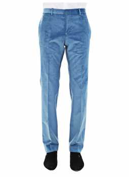 Pantalon homme fitté en velours côtelé stretch