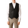 Vest man in pure flannel wool Vitale Barberis Canonico