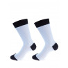 Mens socks over of Scotland 100% cotton sky and navy