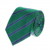 Tie club stripe navy