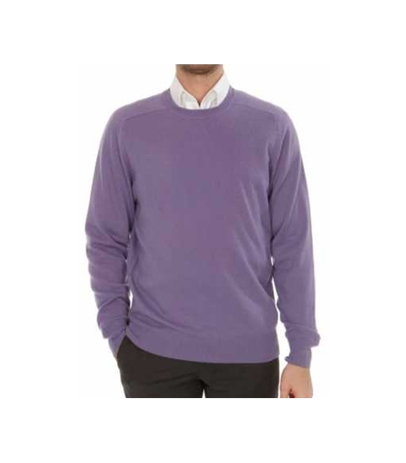 Mens sweater crewneck 100% cashmere end