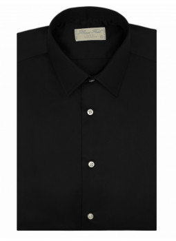Shirt man slim fit solid