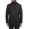 Jacket cross men's wool and cashmere