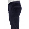 Pants fitted corduroy stretch