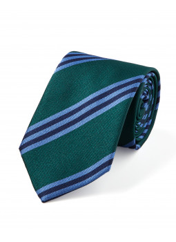 Pure Silk Tie with stripes