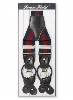 Elastic straps, broad stripes