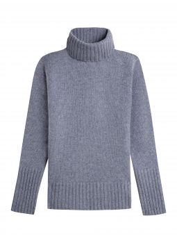 Sweater woman's turtle neck 100% cashmere