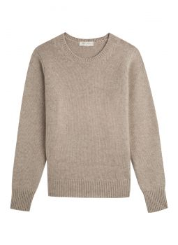 Sweater woman's round neck 100% cashmere