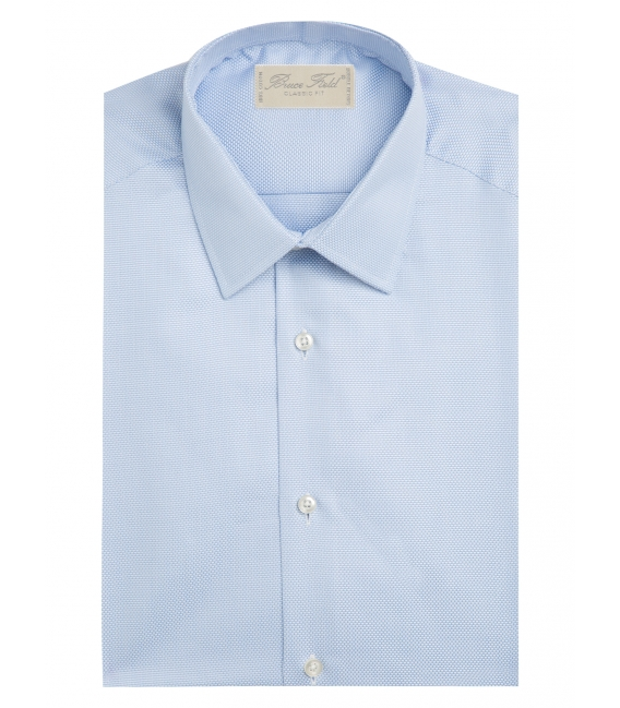 Shirt classic cotton finely stitched